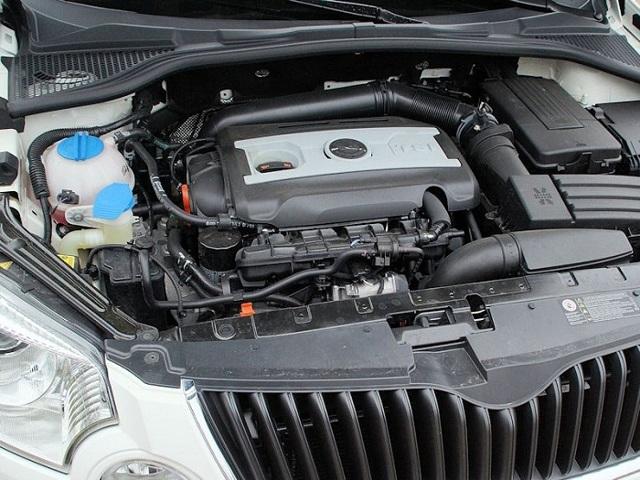 Сколько масла в двигателе Шкода Йети 1.2 tsi Турбо