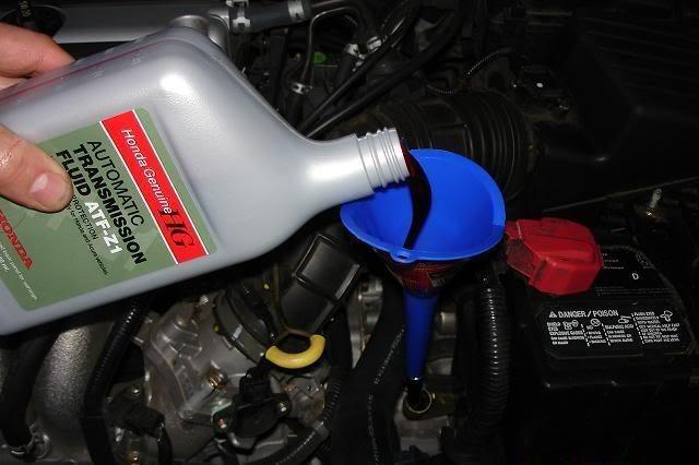Сколько литрнов масла заливать в АКПП (коробку автомат) honda accord