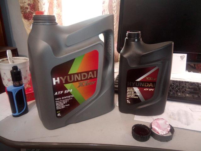 Замена масла в АКПП Хендай Солярис с двигателем 1.4 - видео с порядком действий по замене совими руками