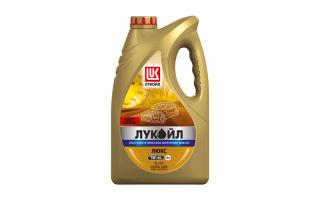 Обзор на моторное масло Лукойл Люкс sl/cf 5w-40: характеристики, отзывы