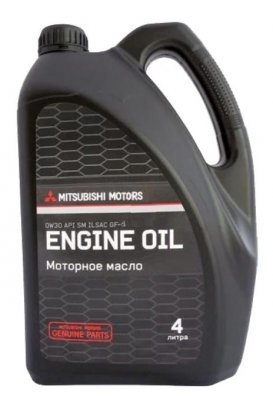 Какое масло заливать в двигатель mitsubishi outlander 2.0, 2.4