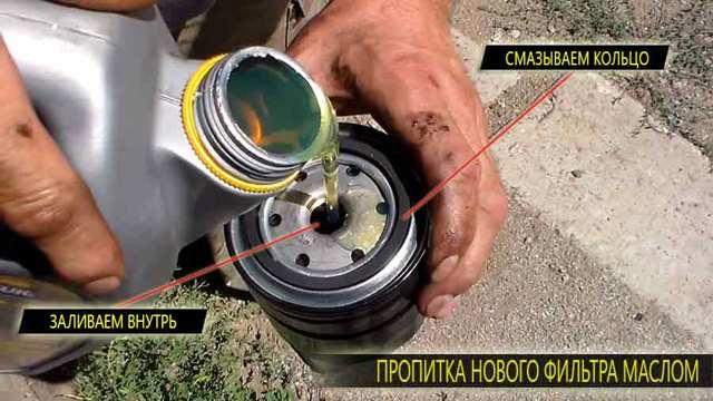 Сколько литров масла нужно заливать в двигатель Лада Калина 1.4, 1.6