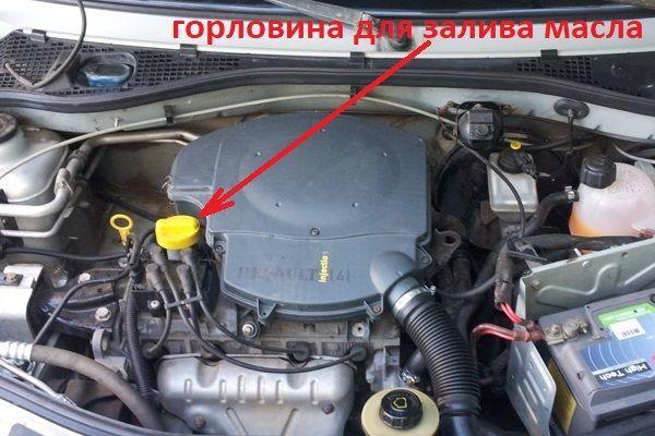 Замена масла в двигателе Рено Сандеро 1.6 - видео инструкция