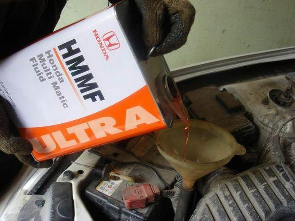 Замена масла в вариаторе Хонда Фит видео своими руками