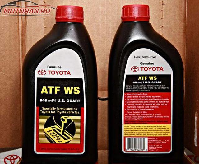 Какое масло лучше заливать в АКПП Тойота Марк ii