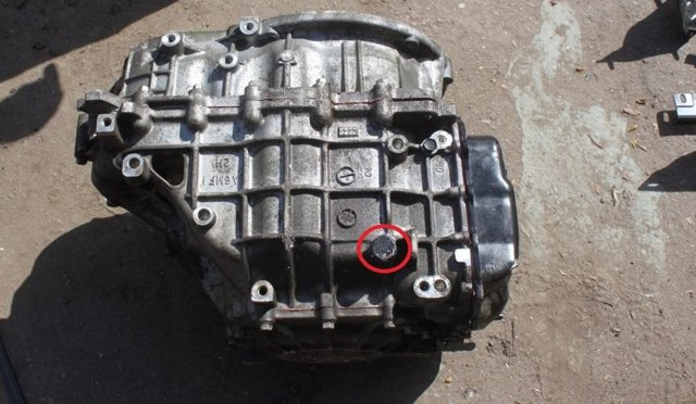 Замена масла в АКПП (коробке) hyundai ix35