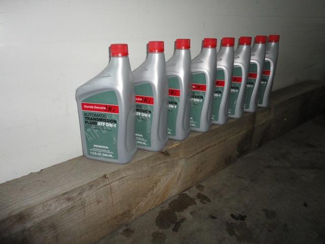 Какое масло заливать в АКПП (коробка автомат) Хонда Аккорд 7