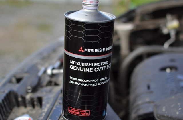 Сколько масла в вариаторе Мицубиси Аутлендер