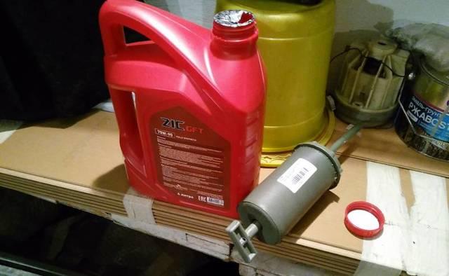 Сколько нужно литров масла для механической коробки передач Шевроле Лачетти