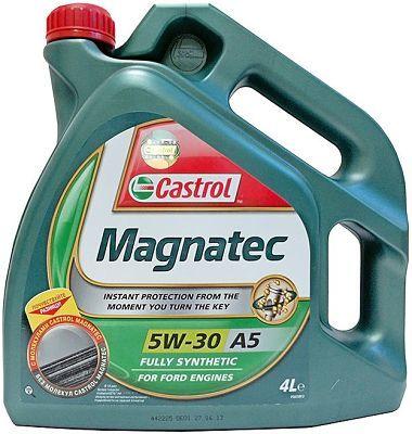 Обзор на моторное масло castrol magnatec 5w30 А5 синтетика : характеристики, отзывы автовладельцев