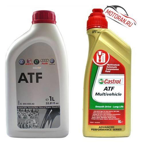Сколько масла в АКПП (коробка автомат) Шкода Октавия А7