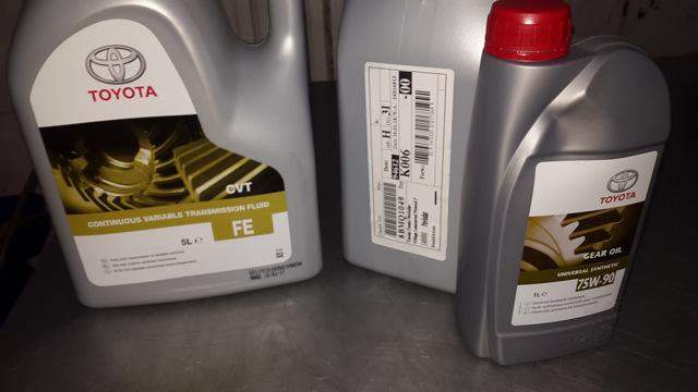 Сколько масла в МКПП (коробке передач) Тойота РАВ 4