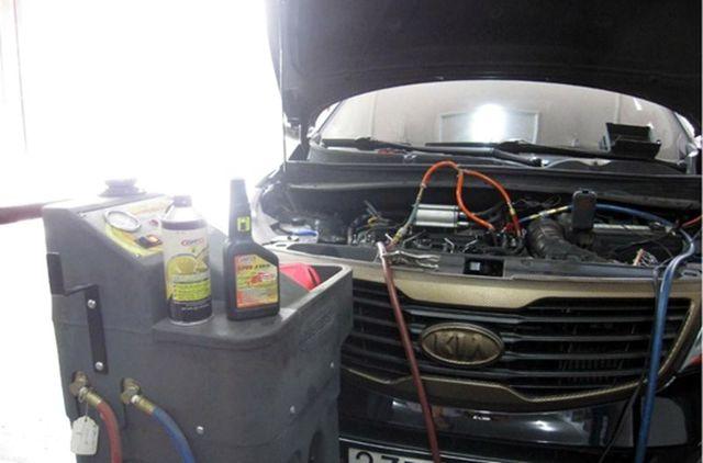 Замена масла в АКПП (коробка автомат) Киа Спортейдж 3 поколения своими руками на видео