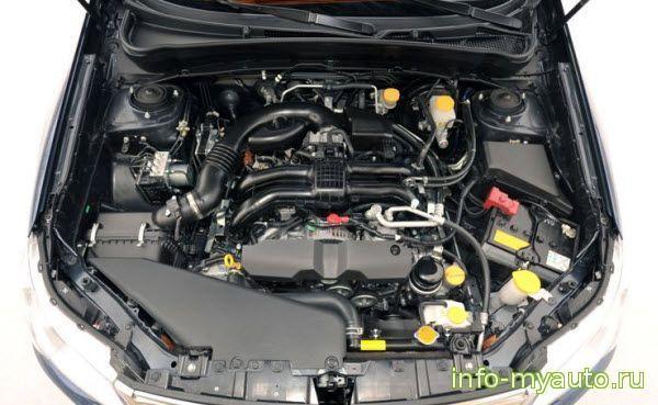 Сколько масла в двигателе Субару Форестер