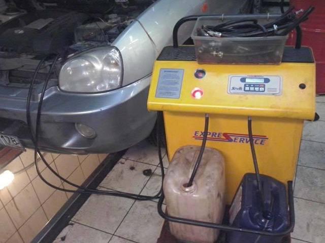 Сколько масла в АКПП (коробка автомат) Хендай Санта Фе