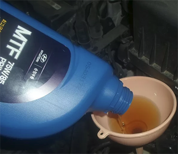 Сколько масла в МКПП (коробке передач) Киа Рио Икс Лайн