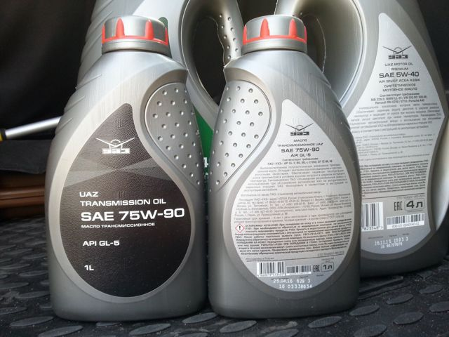 Сколько масла в МКПП (коробке передач) УАЗ Патриот