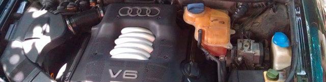 Сколько литров масла нужно заливать в двигатель Ауди А6 С5 1.8, 1.9, 2.0, 2.2, 2.3, 2.4, 2.5, 2.6, 2.8, 4.2