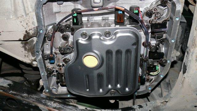 Замена масла в АКПП (коробка автомат) Тойота Камри v40 своими руками на видео