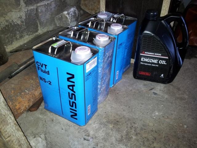Сколько масла в МКПП (коробке передач) Ниссан Х Трейл