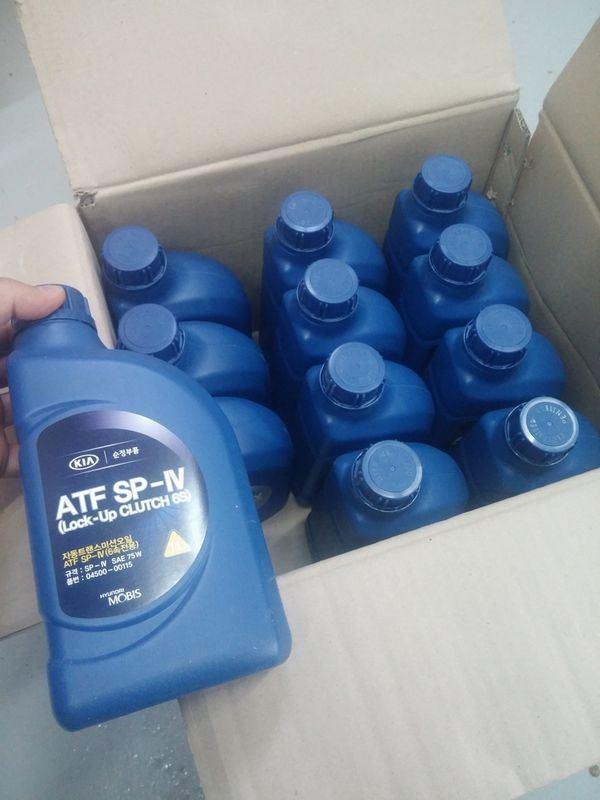 Сколько литров масла нужно заливать в АКПП Киа Церато