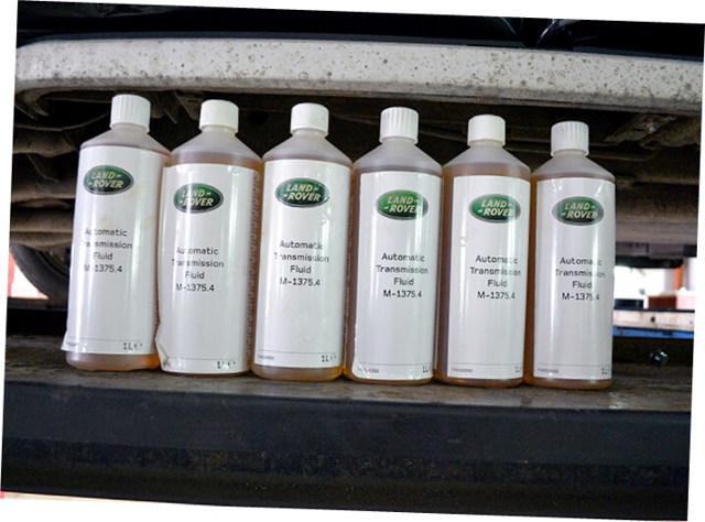 Сколько литров масла нужно заливать в АКПП Ленд Ровер Дискавери