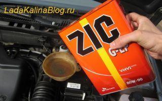 Замена масла в МКПП коробке передач Лада Калина своими руками видео