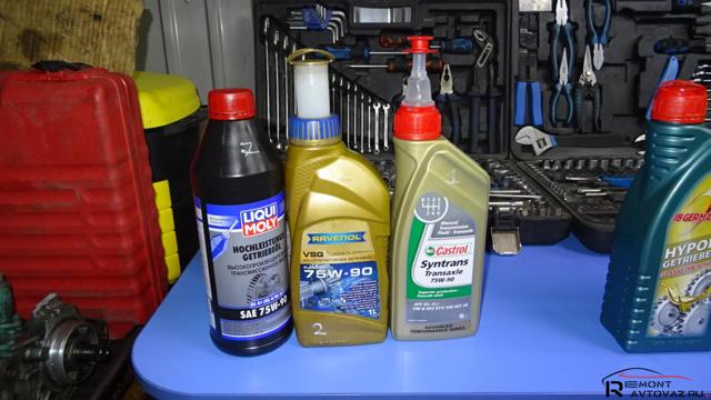 Какое масло заливать в механическую коробку передач Лада Икс Рэй