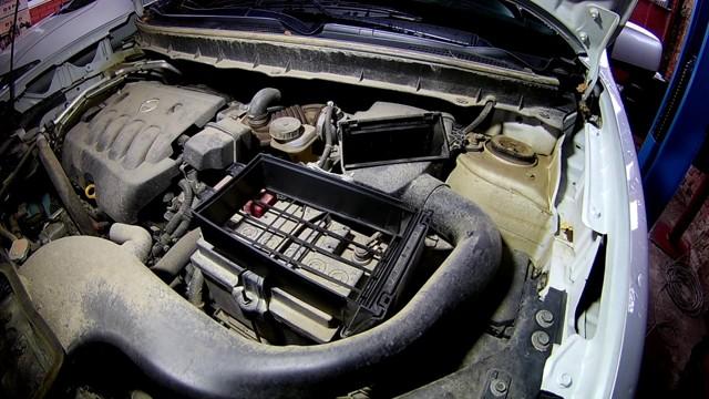 Замена масла в двигателе Ниссан Х-Трейл Т31 пошаговая видео инструкция