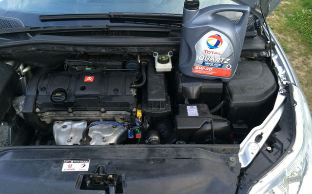 Какое масло лучше заливать в двигатель 1.6 Ситроен С4