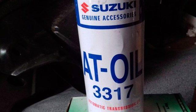 Сколько масла в АКПП (коробка автомат) Сузуки Джимни