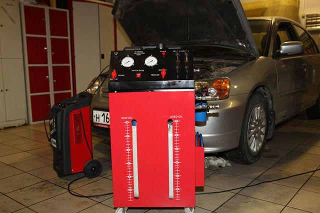 Сколько литров масла нужно заливать в АКПП Хонда cr-v 4