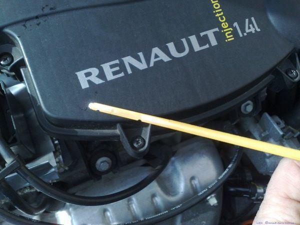 Сколько литров масла нужно заливать в двигатель 1.6 Рено Логан