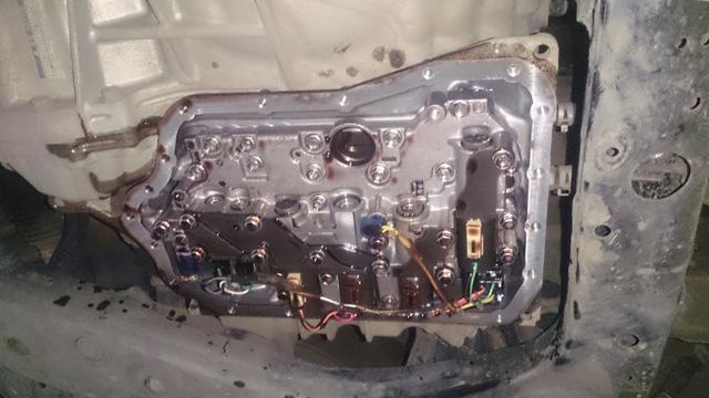 Сколько масла в АКПП (коробка автомат) Тойота Венза
