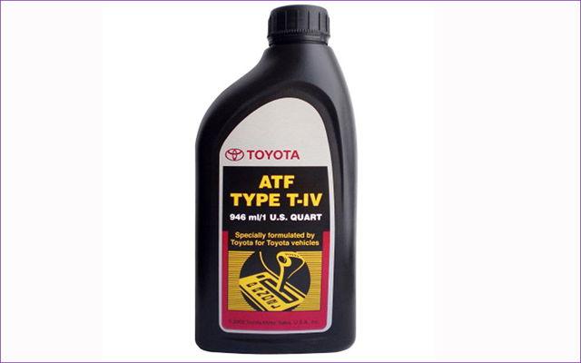 Сколько масла в АКПП (коробка автомат) Тойота РАВ 4