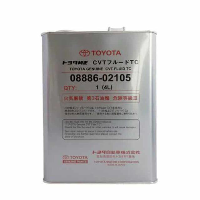 Сколько литров масла нужно заливать в вариатор Тойота Витц