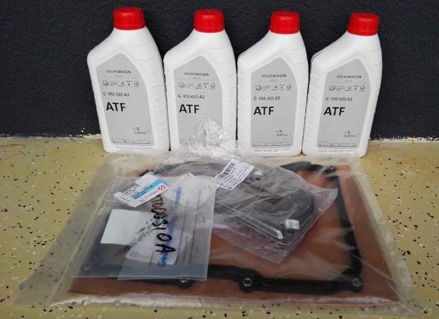 Замена масла в АКПП (автомат) Шкода Рапид своими руками