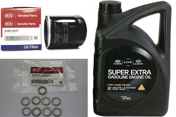 Сколько литров масла нужно заливать в двигатель kia a5d
