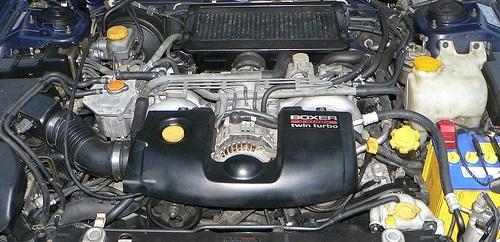 Сколько литров масла нужно заливать в двигатель Субару Импреза 1.5, 2.0