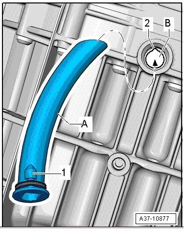 Замена масла в вариаторе audi a4 b8 своими руками