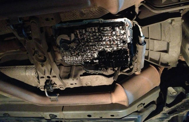Замена масла в АКПП Форд Эксплорер 5 поколения своими руками