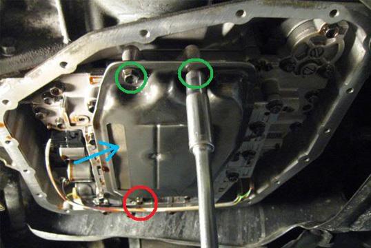 Замена масла в АКПП Тойота Королла 150 своими руками
