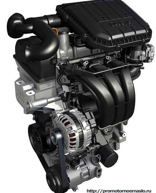 Сколько масла в двигателе cwva 1.6 mpi 110 л.с.