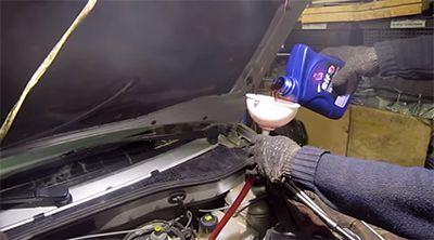 Сколько масла в АКПП (коробка автомат) Рено Меган 2