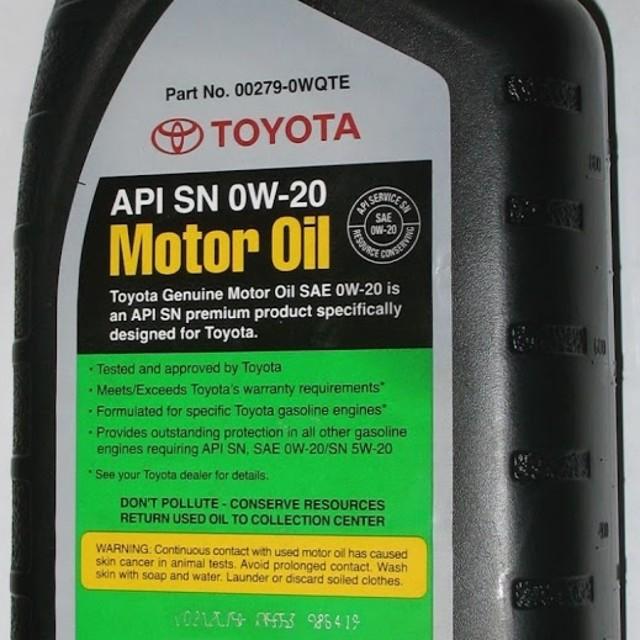 Какое масло заливать в двигатель Тойота Королла 150
