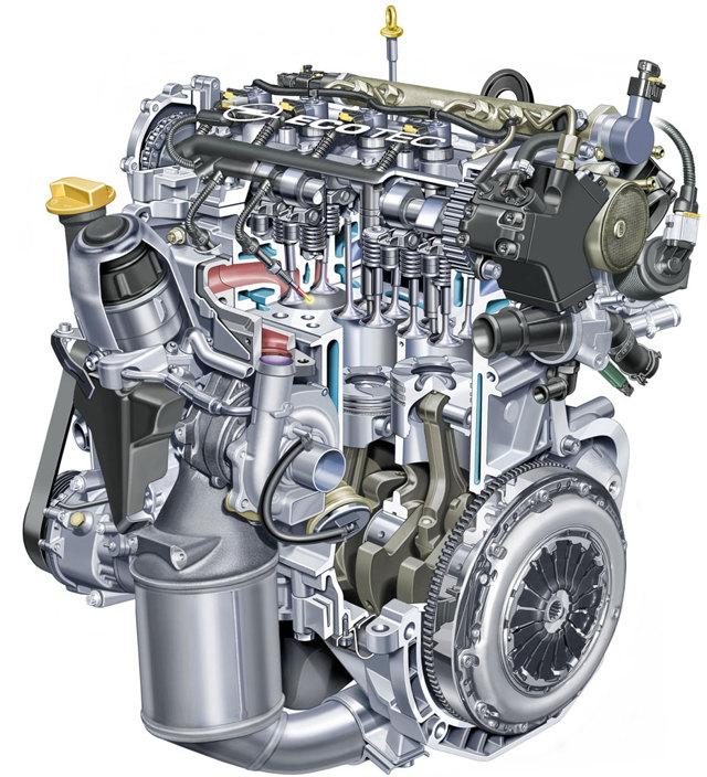 Сколько литров масла нужно заливать в двигатель Опель Корса 1.2, 1.4
