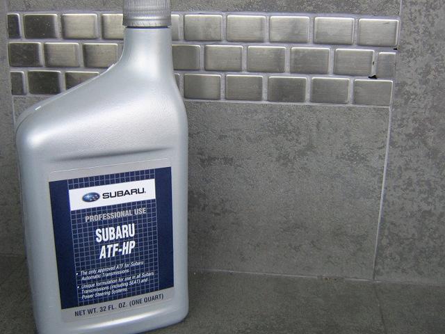 Сколько литров масла нужно заливать в АКПП Субару Форестер