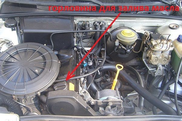 Сколько литров масла нужно заливать в двигатель Ауди 100 1.8, 2.0, 2.2, 2.3, 2.4, 2.5, 2.6, 2.8