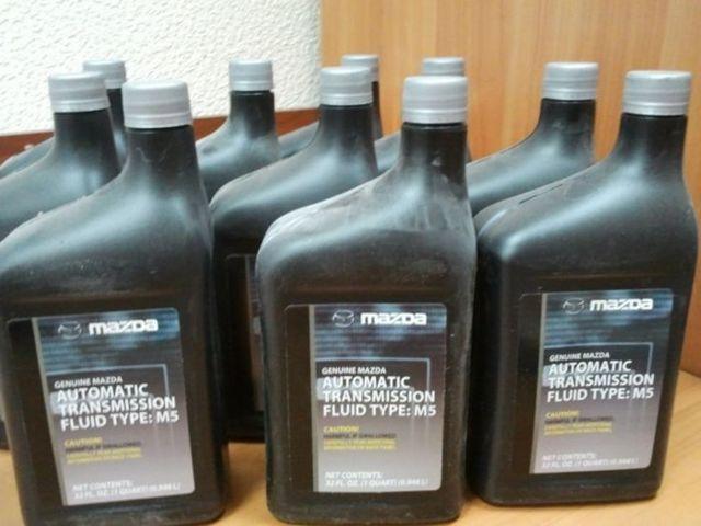 Сколько масла в АКПП (коробка автомат) Мазда 6 gj