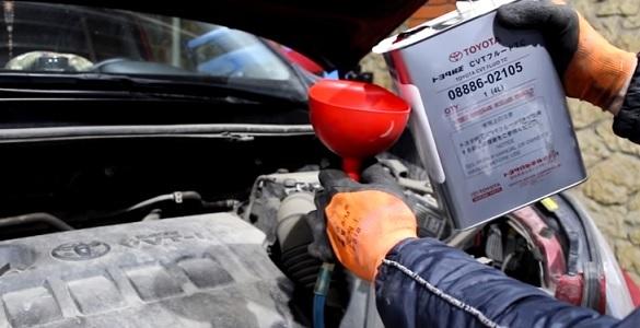 Замена масла в вариаторе Тойота Рав 4 своими руками - видео